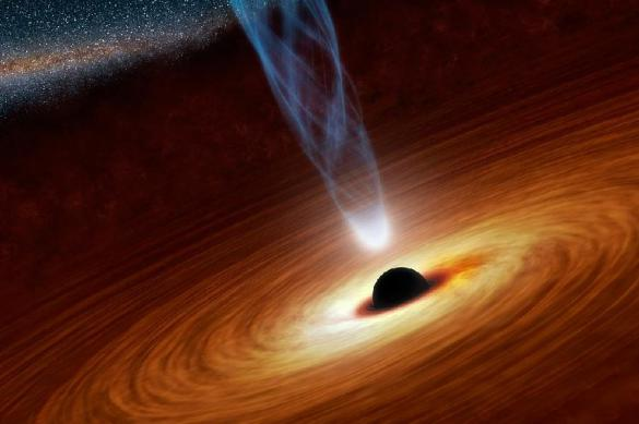 Планеты могут формироваться вокруг черных дыр