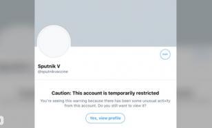 """Странные танцы"" Twitter с аккаунтом вакцины Sputnik V"