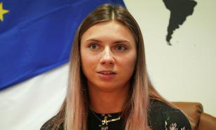 Тимановская выступила на пресс-конференции в Польше