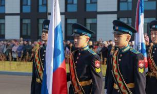 Кадеты из Домодедова приняли участие в патриотической акции