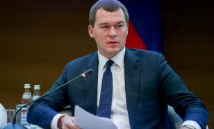 Дегтярев отказался говорить с протестующими гражданами