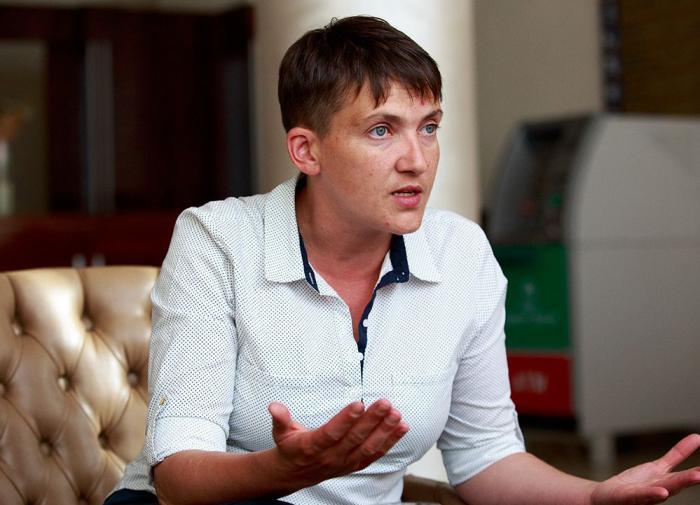 """Савченко возмущена """"дешевизной украинцев в Европе"""""""