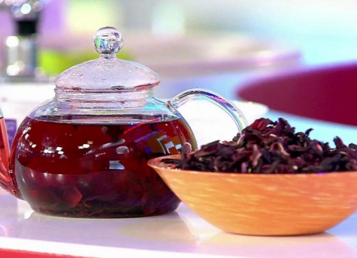 Чай из каркаде признали эффективным средством для долголетия