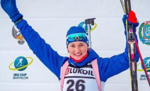 Биатлонистка Егорова выиграла спринт на этапе Кубке IBU в Австрии