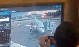 В Сеть просочился ролик, на котором якобы сотрудники аэропорта смеются над катастрофой SSJ-100 в Шереметьеве