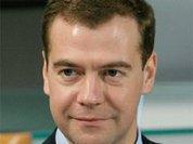 Олимпийское знамя едва не осталось без Медведева