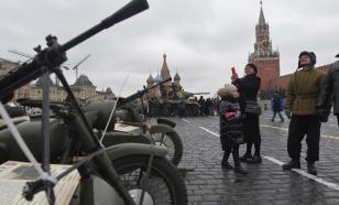 Москва продолжает готовиться к параду