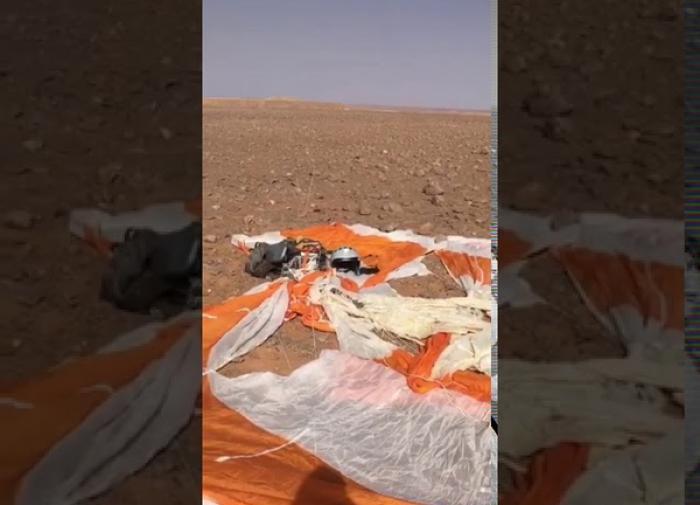 Случай на учениях приняли за падение российского самолета в Ливии