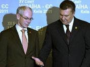 Евро-унижение Виктора Януковича
