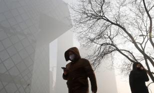 """В Китае объявлено первое в 2017 году """"красное"""" предупреждение из-за смога"""