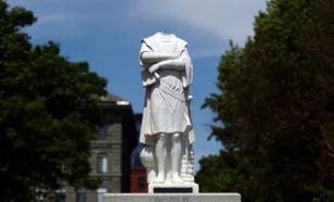 Что сделает Бостон с обезглавленным памятником Христофору Колумбу?