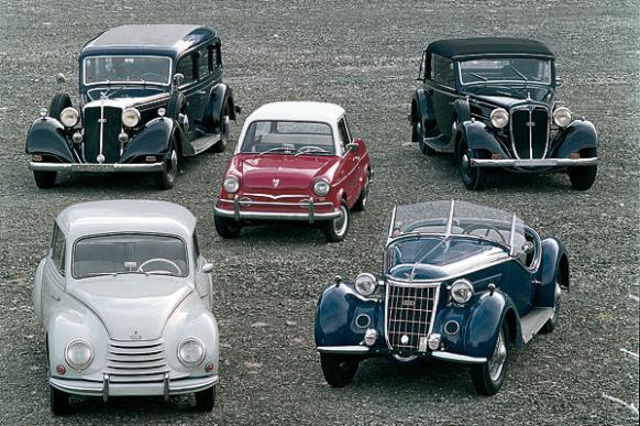 Audi: модели машин из прошлого