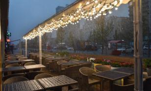 Власти Москвы попросили закрыть летние веранды ресторанов и кафе