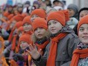 В Екатеринбурге дети будут красить... лопаты