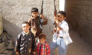 Дети-солдаты в Сирии