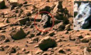 """Найденные на Марсе """"окаменелости динозавров"""" - очередной фейк"""