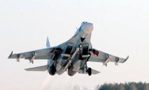 На российском истребителе Су-27 погиб подполковник ВВС США