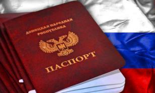 Москва может отменить признание паспортов жителей ДНР и ЛНР