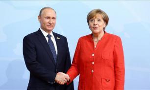 Меркель посетит Россию 11 января по приглашению Путина