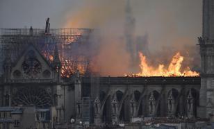 МОК выделит 500 тыс. евро на восстановление сгоревшего Нотр-Дама