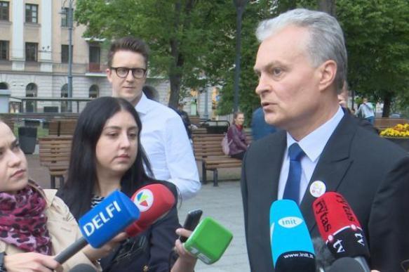 Новый президент Литвы Гитанас Науседа не планирует улучшать отношения с Россией