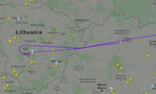 Рейс Москва - Берлин в небе над Литвой сообщил о ЧП и резко развернулся