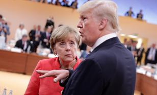 """Меркель и Трамп жестко поспорили из-за """"Северного потока-2"""""""
