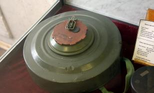 Житель Новокузнецка нашёл в куче металлолома противотанковую мину
