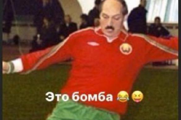 Дзюба посмеялся над Лукашенко на обложке FIFA21