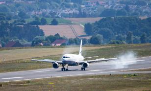 Самолёт выкатился за пределы взлётно-посадочной полосы в Подмосковье