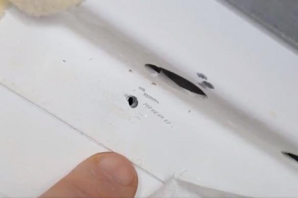В NASA ждут объяснений от Рогозина по поводу происхождения дыры на МКС
