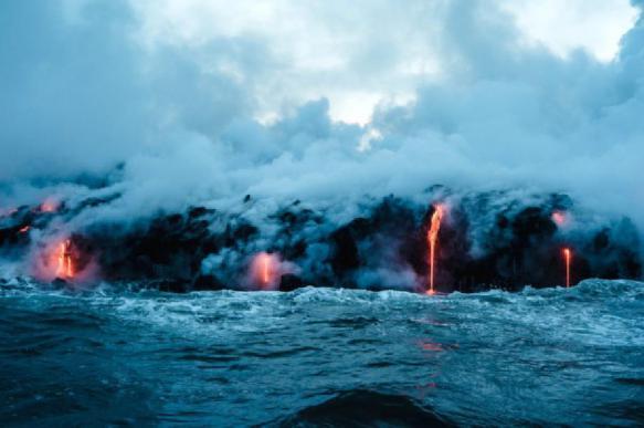 Японские исследователи обнаружили подводный вулкан возрастом 3 млн лет