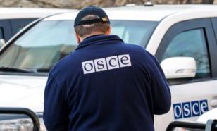 В Донбассе под обстрел попал патруль ОБСЕ