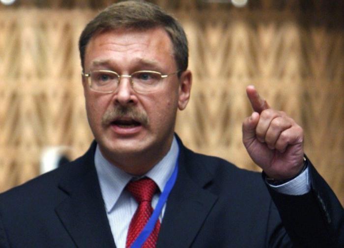 Косачёв предложил свой ответ на украинские санкции