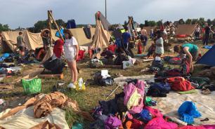 """""""Есть раненые, паники нет"""": из-за бури и сильной грозы в Страсбурге из молодежного лагеря эвакуированы 15 тысяч скаутов"""