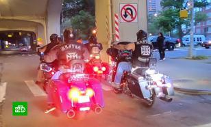 Русские байкеры патрулируют Брайтон Бич