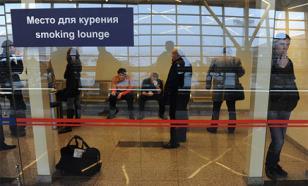 Минздрав осудил привлекательный вид курилок в российских аэропортах