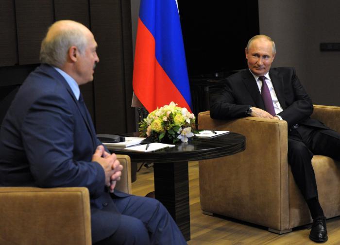 В Кремле анонсировали встречу Путина и Лукашенко