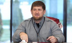 Кадыров поблагодарил Путина за уничтожение терроризма