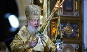 """Патриарх Кирилл считает коронавирус """"Божьей милостью"""""""