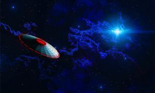 NASA случайно показало НЛО в прямом эфире