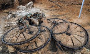 В Хорватии обнаружили римскую колесницу с лошадьми