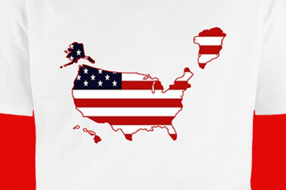 Республиканцы выпустили футболки с Гренландией в составе США
