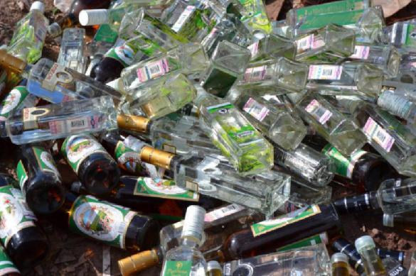 Более трех тонн контрафактного алкоголя изъяли в Петербурге