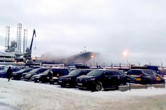 """Ущерб """"Адмирала Кузнецова"""" от пожара оценивается противоречиво"""