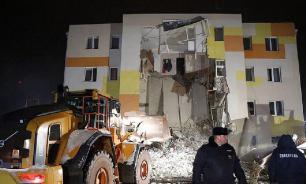 В Белгородской области рухнул дом. Причина - взрыв газа