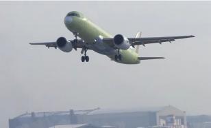 Первый самолёт с российским двигателем прошёл испытания. Успешно