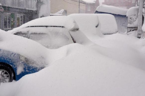 На Сахалине бушует циклон