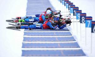 Российские биатлонистки завоевали серебро в эстафете Хохфильцена