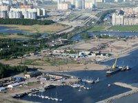 """""""Газпрому"""" разрешили строить небоскреб в Петербурге."""